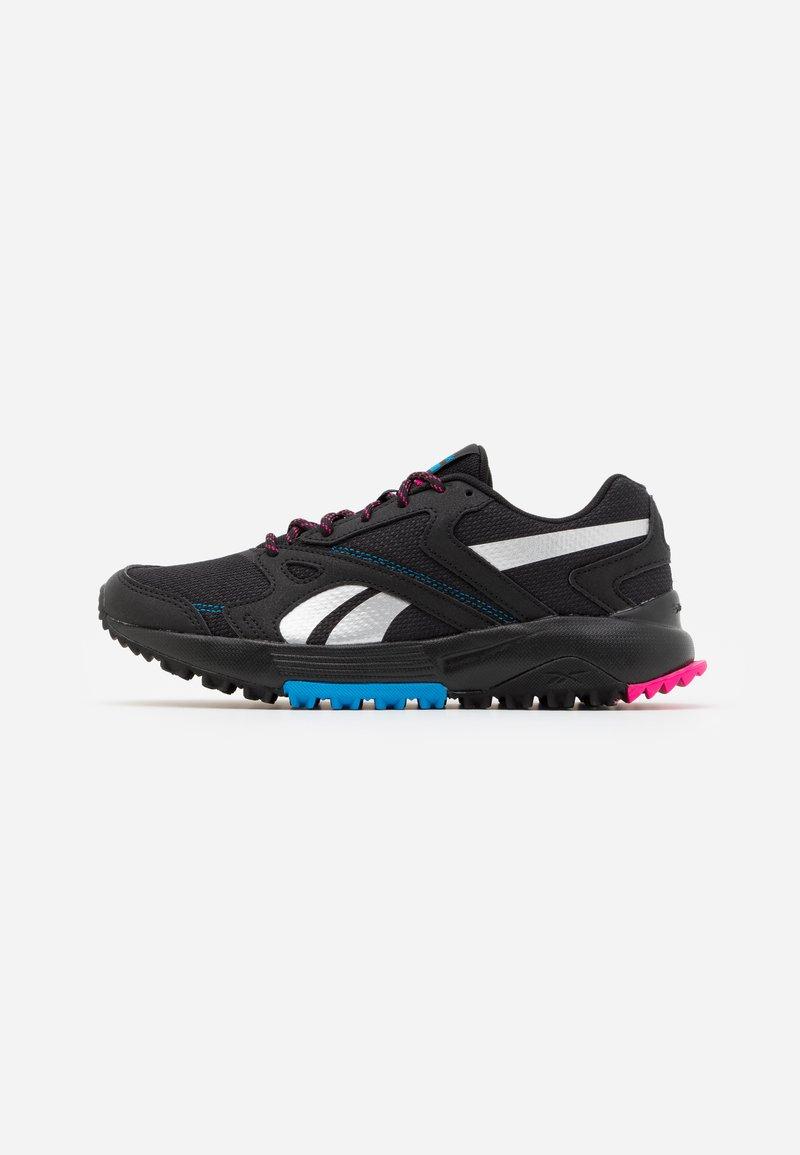Reebok - LAVANTE TERRAIN - Trail running shoes - black/horizon blue/white