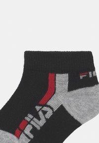 Fila - JUNIOR INVISIBLE 9 PACK UNISEX - Socks - white/navy/grey - 1