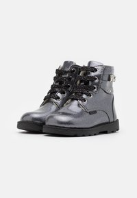 Primigi - Lace-up ankle boots - canna fucile - 1