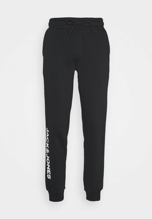 JJIGORDON SIDE SOFT PANTS - Tracksuit bottoms - black