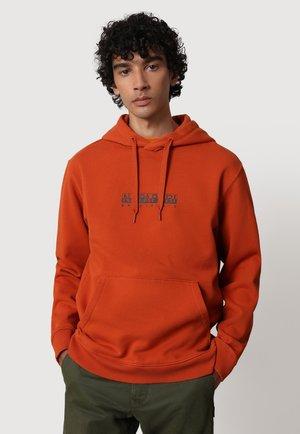 Sweatshirt - orange ginger