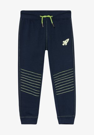 KIDS GLOW IN THE DARK ROCKET  - Tracksuit bottoms - nachtblau original