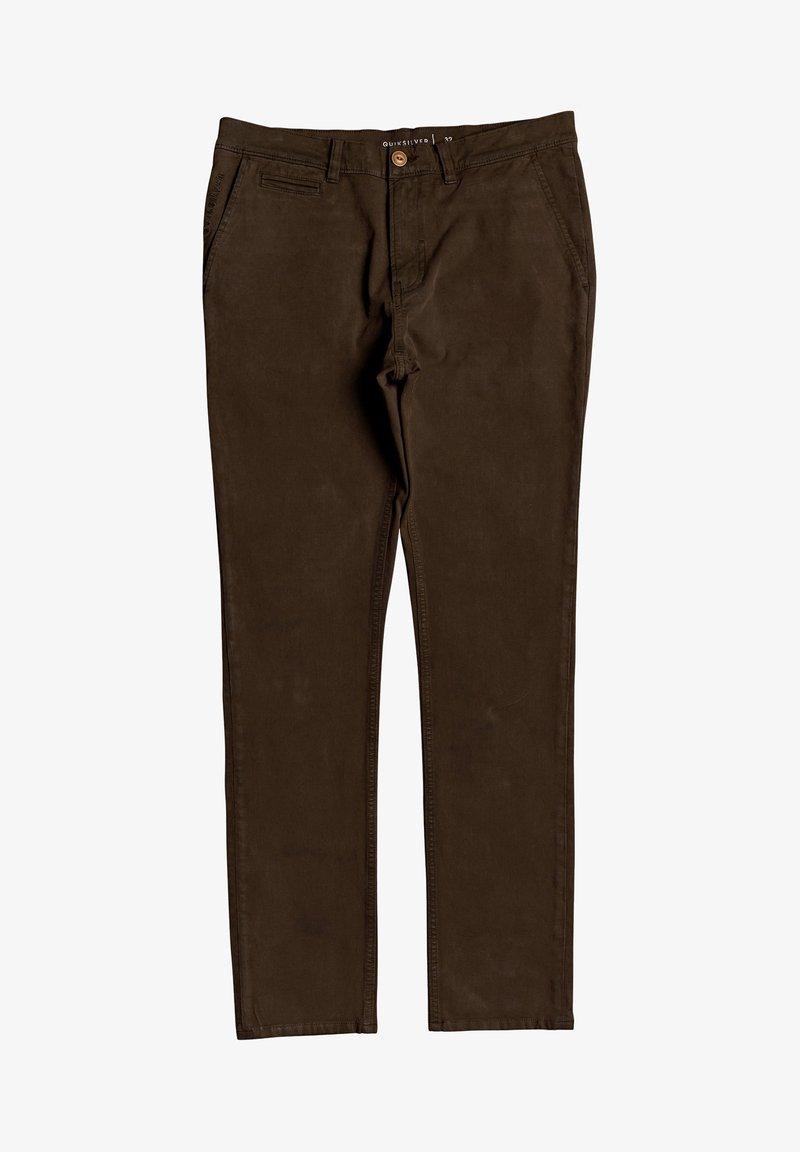 Quiksilver - KRANDY - Trousers - demitasse