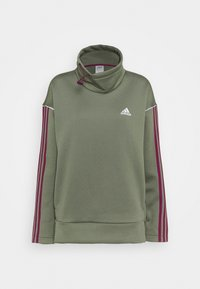 adidas Performance - Sweatshirt - olive - 3