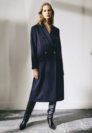 MIT KNÖPFEN LIMITED EDITION - Classic coat - dark blue