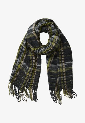 MIT FRANSEN - Scarf - black/yellow
