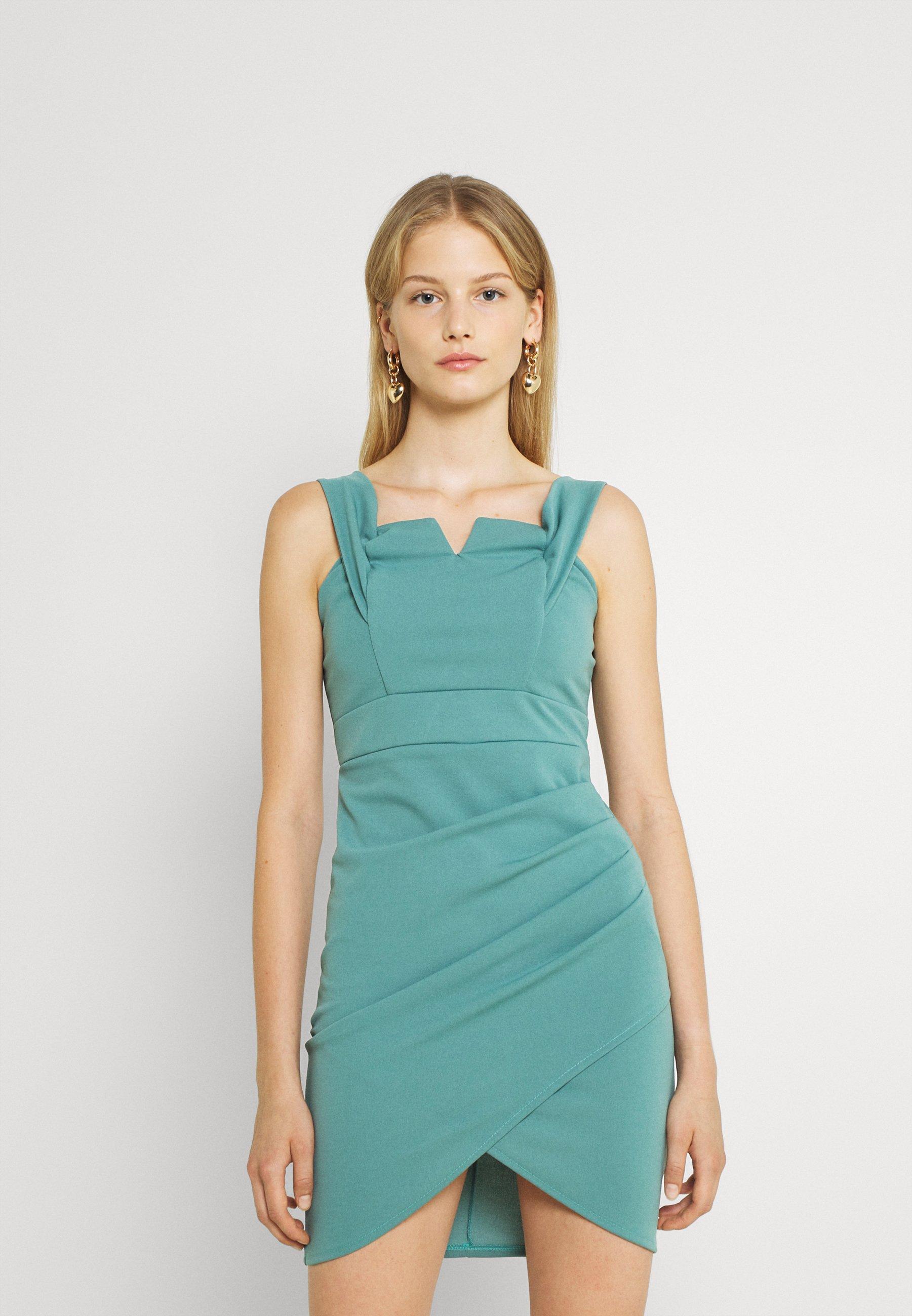 Women GINNY OFF SHOULDER BODYCON DRESS - Jersey dress