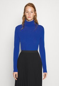 Benetton - TURTLE NECK - Strickpullover - blue - 0