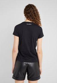 KARL LAGERFELD - IKONIK  - Print T-shirt - black - 2