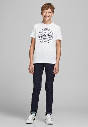T-SHIRT 3ER-PACK JUNGS LOGO - Print T-shirt - white
