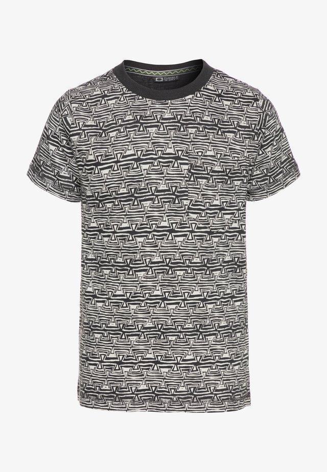 GAYNOR - T-shirt print - grey asphalt