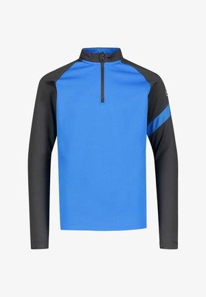 Long sleeved top - blau / schwarz (959)