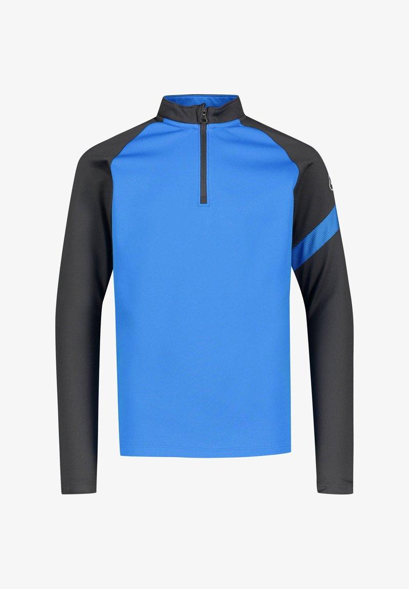 Nike Performance - Long sleeved top - blau / schwarz (959)