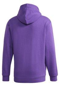 adidas Originals - STRIPES HOODIE - Mikina skapucí - purple - 12