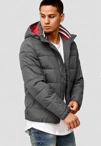 INDICODE JEANS - PHILPOT - Winter jacket - dark grey - 3