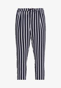 ONLY Carmakoma - CARCASIA LONG PANTS - Bukse - peacoat - 3