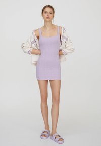 PULL&BEAR - Jumper dress - purple - 1