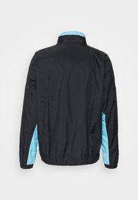 Nike Performance - NBA MIAMI HEAT CITY EDITION TRACKSUIT - Club wear - black/blue gale/laser fuchsia - 2