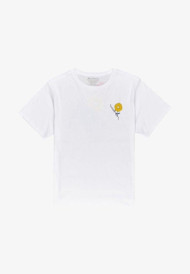 RISE AND SHINE - T-shirt print - optic white