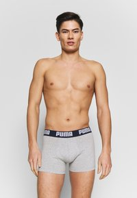 Puma - STATEMENT 2 PACK - Panties - dark blue/grey - 0