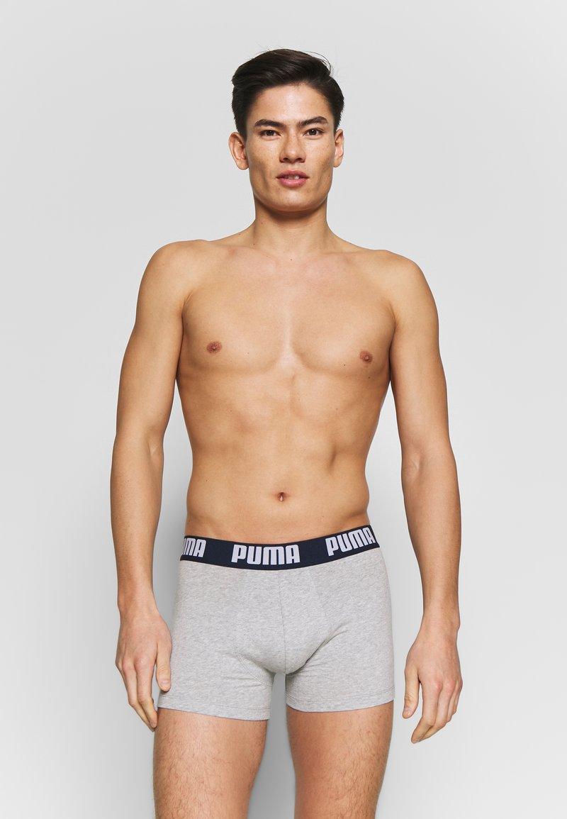 Puma - STATEMENT 2 PACK - Panties - dark blue/grey