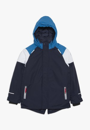 NKMSNOW03 JACKET BLOCK  - Winter jacket - dark sapphire