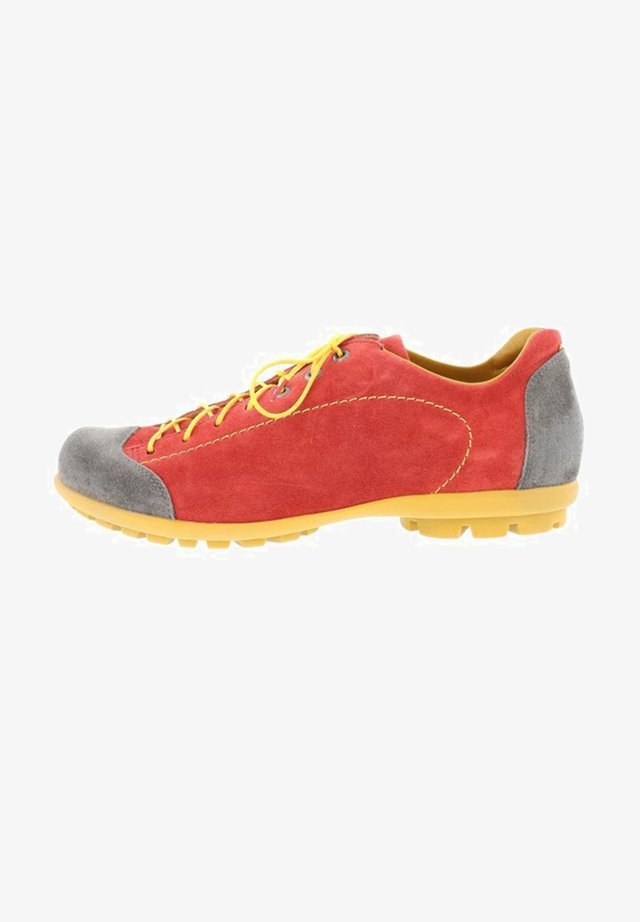 KONG - Casual lace-ups - rosso kombi