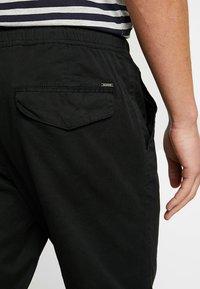 Solid - TRUC CUFF - Trousers - black - 5