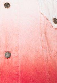 Ética - ELENA - Denim jacket - coral - 2