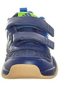 adidas Performance - GYMPLUS 2 - Chaussures d'entraînement et de fitness - night blue/blue beauty/ray green - 3