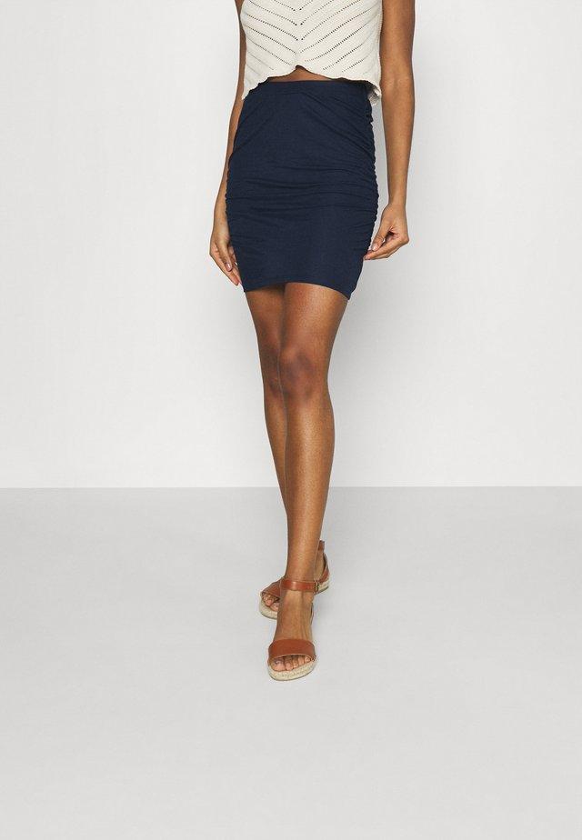 VIWANDERA SHORT SKIRT - Mini skirt - navy blazer