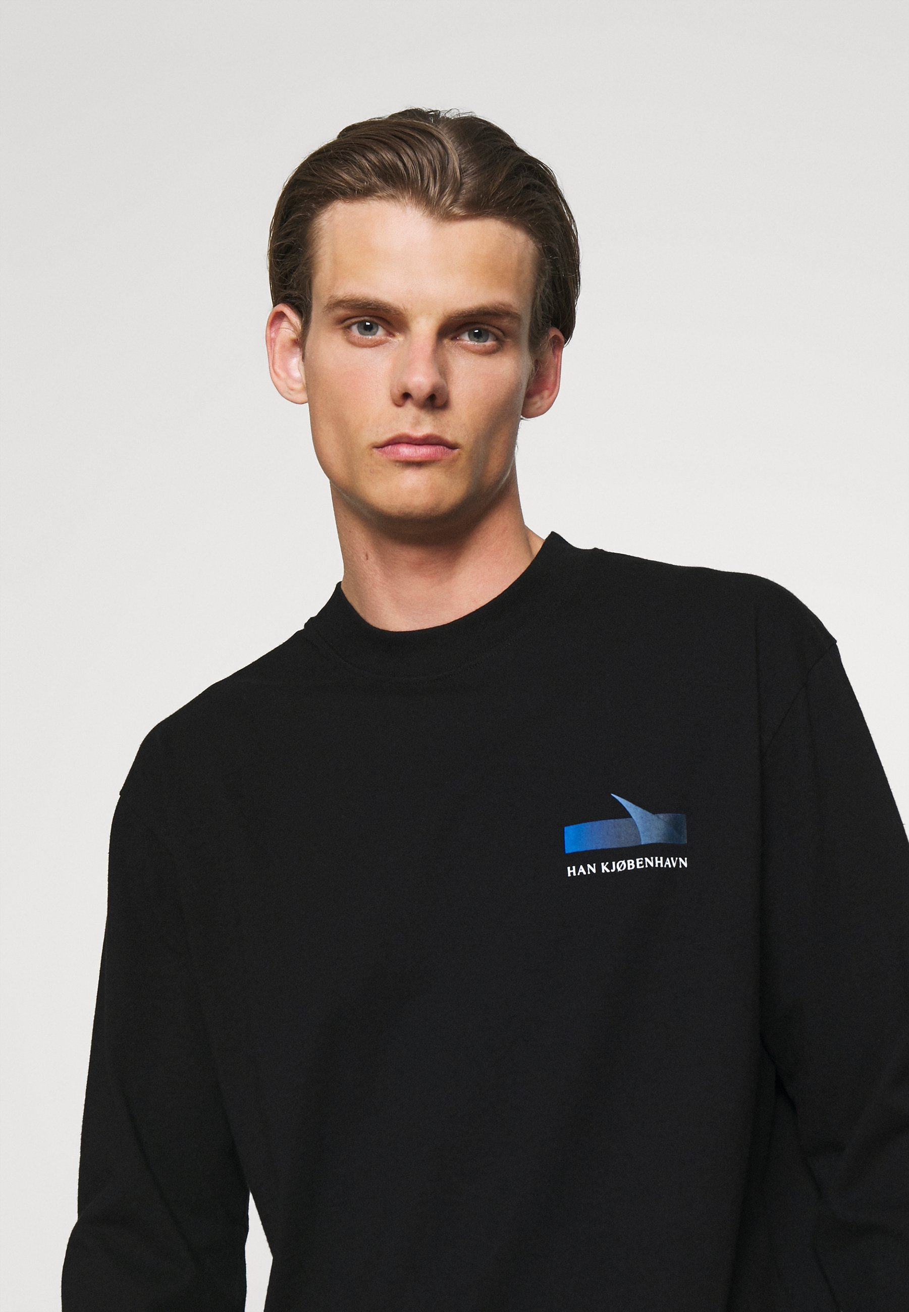 Homme BOXY TEE - T-shirt à manches longues