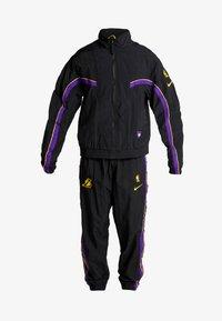 Nike Performance - NBA LA LAKERS RETRO TRACKSUIT - Pelipaita - black/field purple - 9