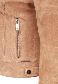 Rino&Pelle - DAMINA - Leather jacket - tan - 4