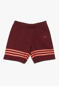 adidas Originals - OUTLINE SET - Short - burgundy - 2