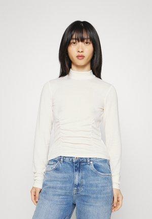 SASHA - Long sleeved top - warm white