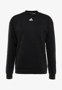 adidas Performance - CREW - Sweater - black/white - 4