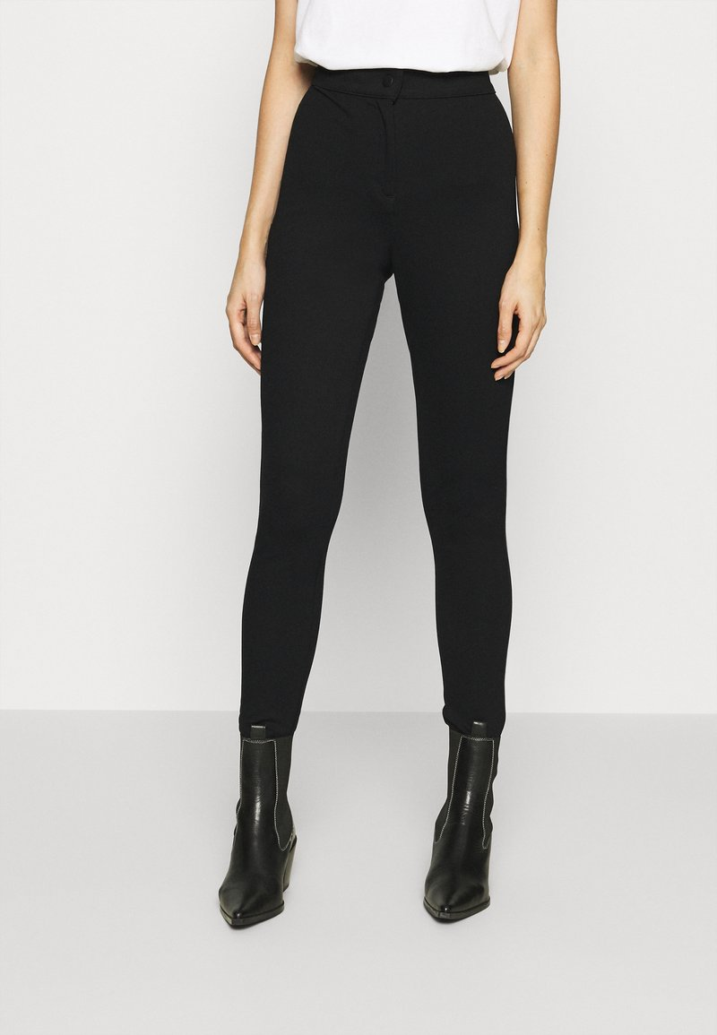 Vero Moda - VMAIDY ANKLE - Leggings - Trousers - black