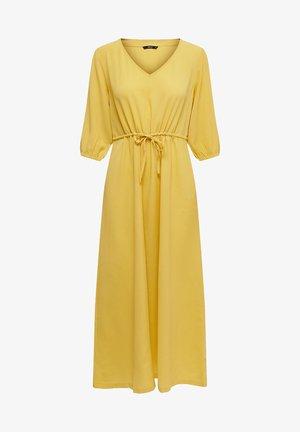 KLEID EINFARBIGES - Robe d'été - misted yellow