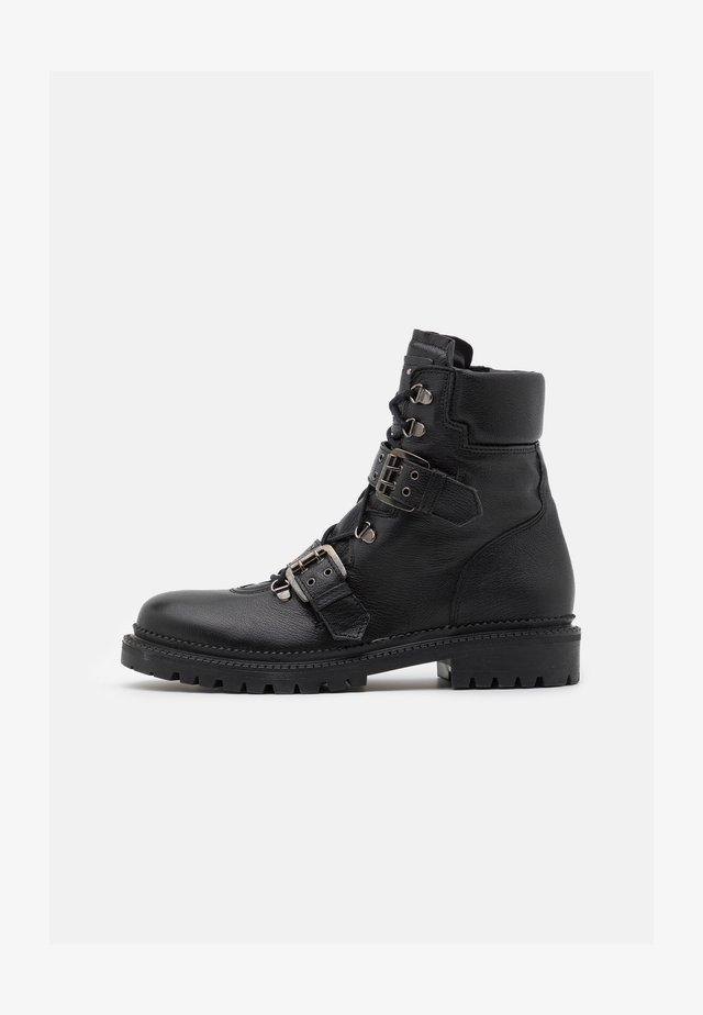 CASIOPE - Cowboy/biker ankle boot - noir