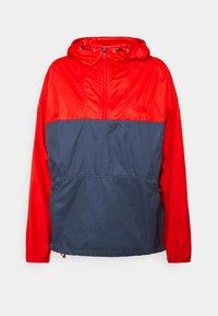 The North Face - CYCLONE - Windbreaker - horizon red/vintageindigo - 0