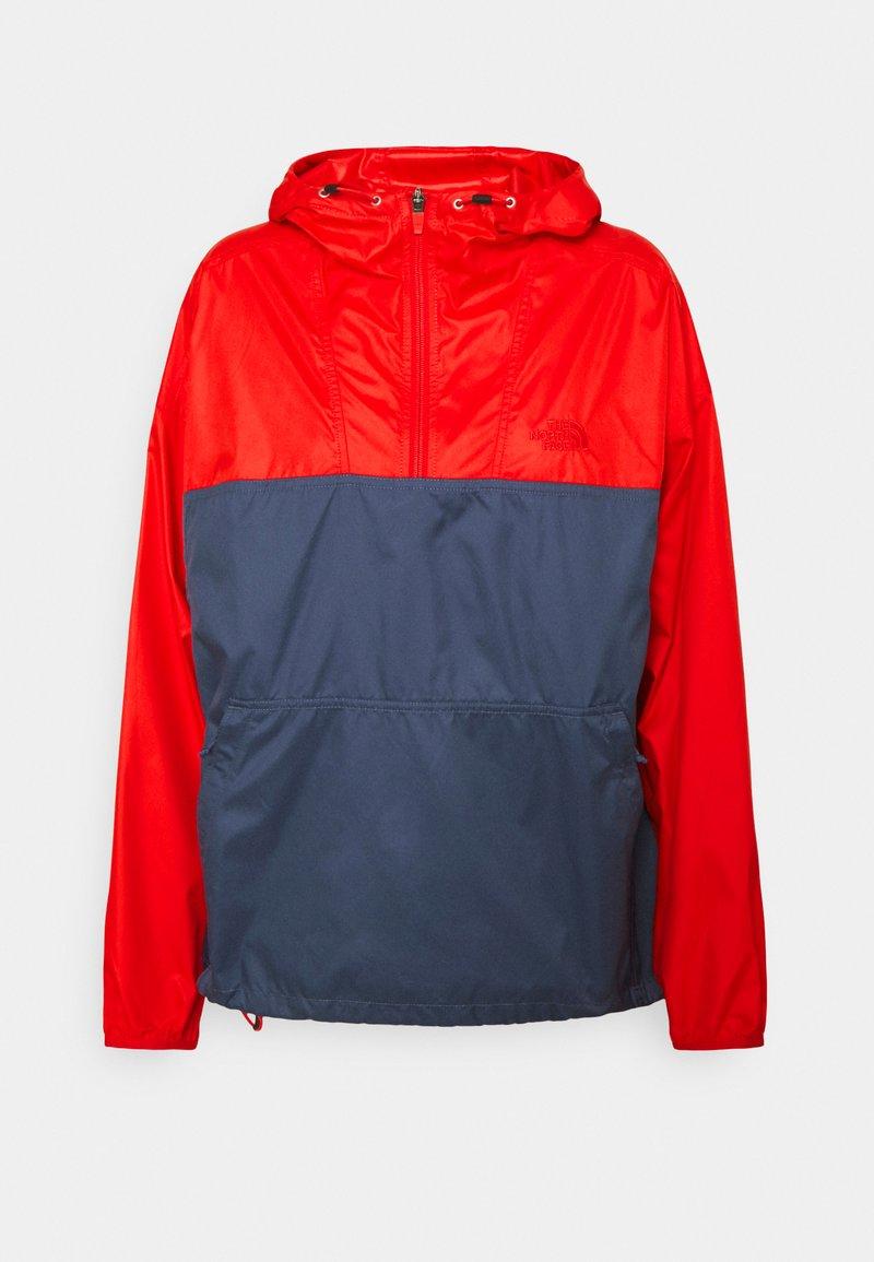 The North Face - CYCLONE - Windbreaker - horizon red/vintageindigo