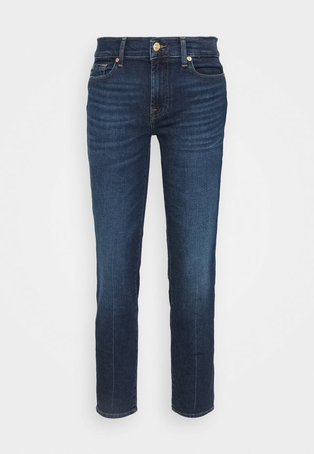 ROXANNE ANKLE LUXE VINTAGE POWERTRIP - Jeans Straight Leg - dark blue