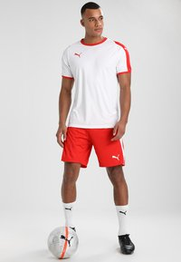 Puma - LIGA  - Sportswear - white/red - 1