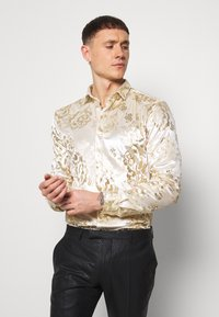Twisted Tailor - GAINES SHIRT - Camicia - champagne - 0