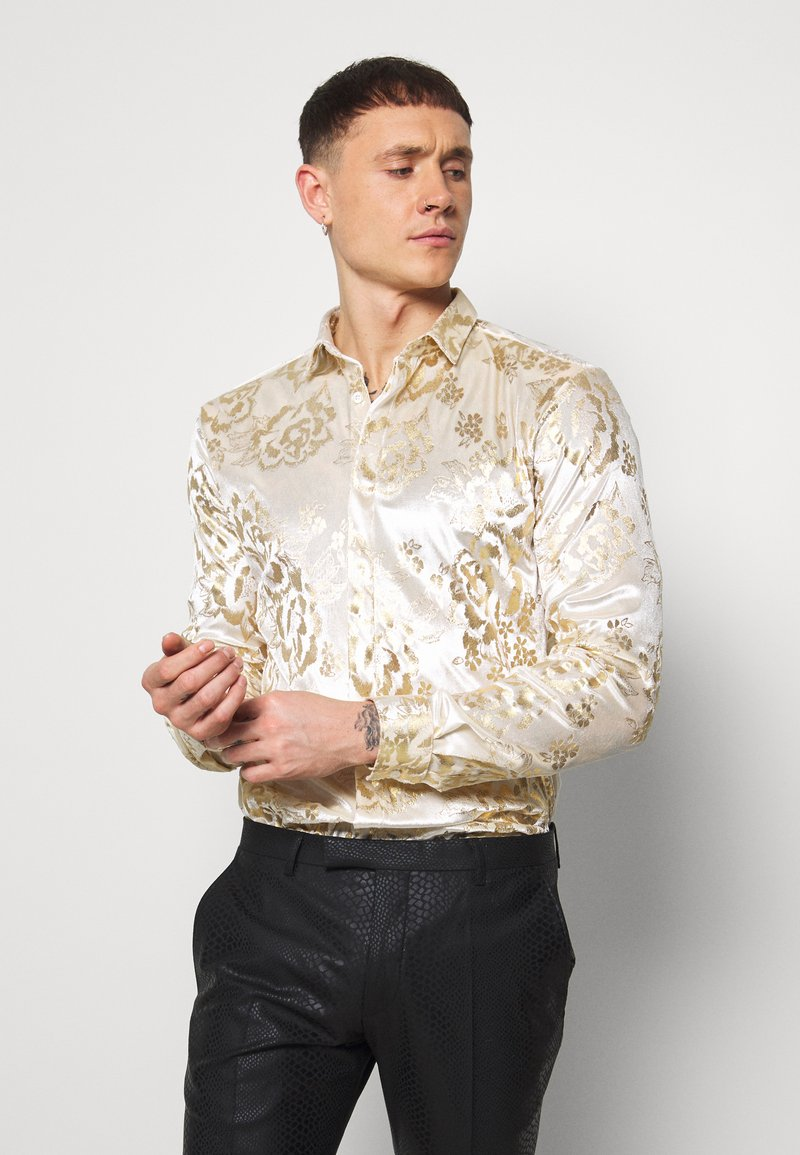 Twisted Tailor - GAINES SHIRT - Camicia - champagne
