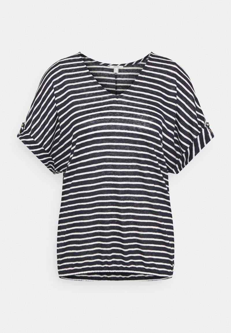 Esprit - TEE - T-shirts med print - navy