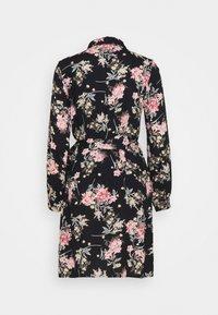 Pieces - PCPAOLA LS DRESS - Shirt dress - black - 5