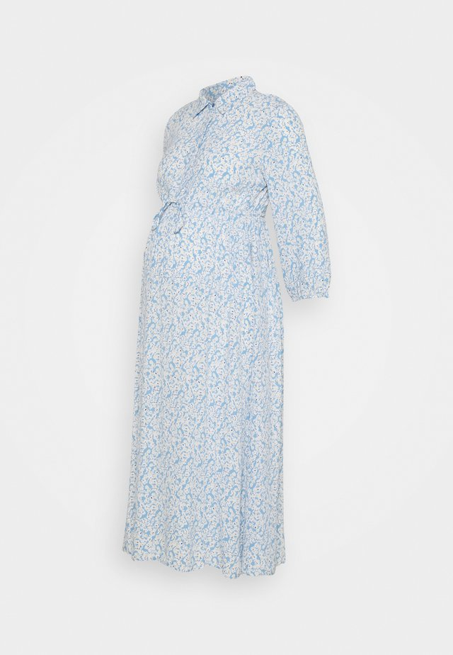PCMLUA MIDI DRESS - Robe longue - little boy blue