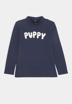 PUPPY TEE UNISEX - Long sleeved top - navy